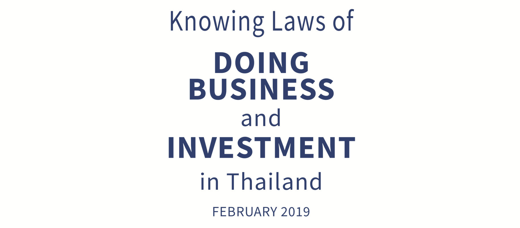 ADB and Thailand for Business Plan 2020